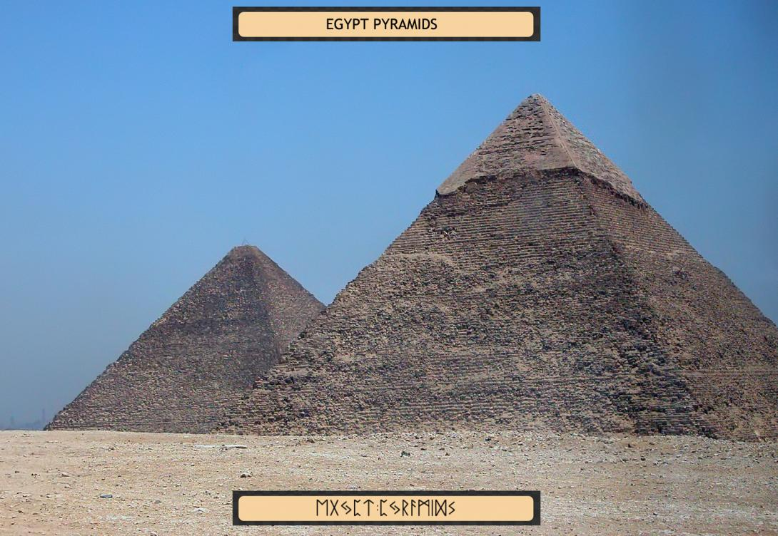 an analysis of the project on ancient egyptian pyramids